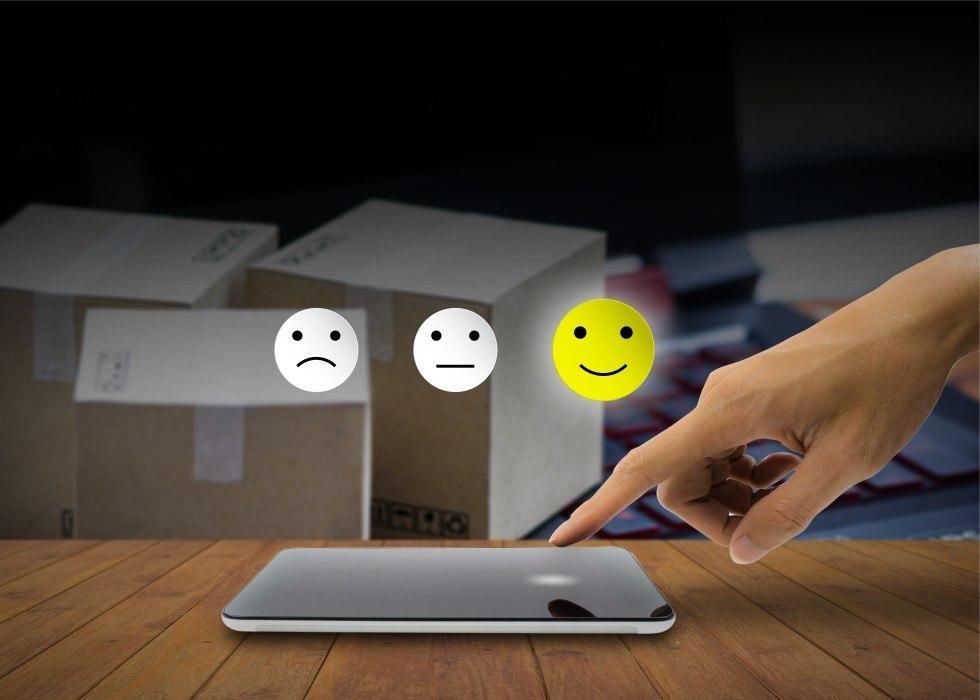 Aktiv zu positiven Online Bewertungen